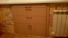 Встроенный шкаф вместо холодильника!