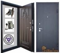 ШИК-F за 19000 + МОНТАЖ в ПОДАРОК    -    дверное  полотно толщиной 75мм,  изготовлено из...