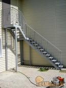 Лестница в чердачное помещение д.Минино