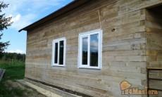 Монтаж окон в деревянных домах.