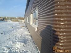 Монтаж панелей сппс здание 42/18 гКрасноярск декабрь 2016г