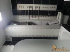 Ремонт ванной комнаты под ключ с заменой сантехники на Суд...