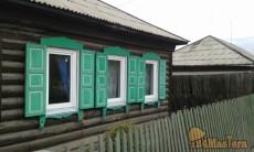 Установка окон ПВХ в деревянных домах.