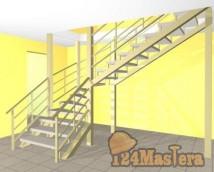 Лестница в цокольный этаж