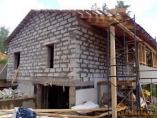Строительство из газобетонных блоков.