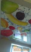 сочные фрукты на кухне