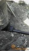 Выпуск канализации. гидрозамок места прохода трубы в колод...