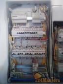 Электромонтажные работы в одном из отделений банка Хоум кр...