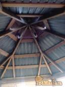 А это крыша беседки