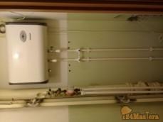 Перенос счётчиков газосваркой а также замена труб на полеп...