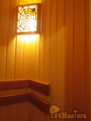 Ремонт под ключ квартиры, с монтированием сауны, ул. Новосибирская, 3