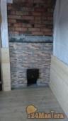 Реконструкция бани снаружи, с полной заменой кровли и внут...