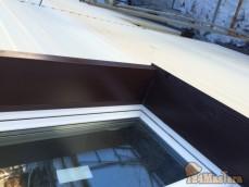 """Монтаж навесного вентилируемого фасада, материал - Сайдинг """"Корабельная доска""""..."""