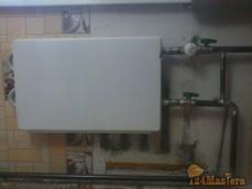 установка конвектора отопления