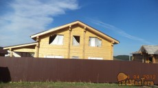 Строительство дома из бруса в Кузнецово