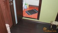 Порожек в туалете стандартная квартира в Северном, мое изо...