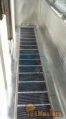 Присоединение балкона к квартире на Водопьянова 9. Утепление,теплый пол вывод электрики от...