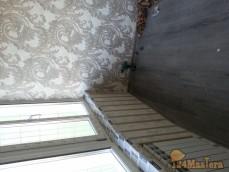 Лоджия 9 м.кв В Северном сделали под жилую комнату
