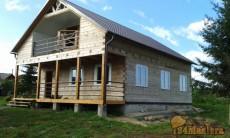 Остекление деревянных домов.