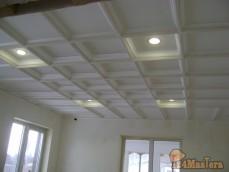 Кессонные потолки -коттедж Горный проезд г.Железногорск