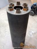 Радиатор печной трубы (Экономайзер) 1100х300х120мм. Эффек...