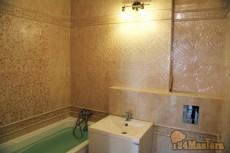 Отделка ванной комнаты Капитанская16