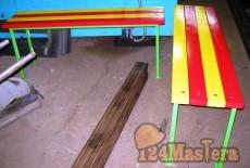 Мебель уличная на металлокаркасе