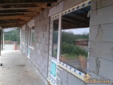 Монтаж балконных блоков.