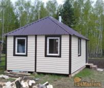 модульный дом  4,5м.*6м.,     для удобства транспортировки состоит из двух половинок.  Мон...