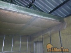 Панели потолка для ФАП из ЛСТК