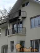 Декоративное ограждение балкона