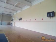 Ремонт спортзала в гимназии
