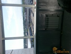 Балкон 9 м.кв. район мясокомбината. Полностью демонтировали всю алюминиевую систему. Низ в...