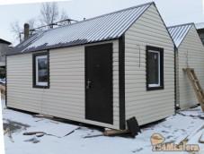 вагончик утепленный  дом  2,9м.*6м.,  предназначен  для дачи, базы отдыха, временного прож...