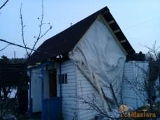 Демонтаж старой крыши и монтаж новой