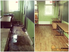 Уборка офиса после пожара
