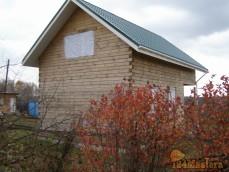 Строительство дома из бруса 150*150 с острожкой в д. Вечерницы 2014г.