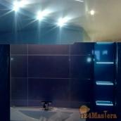 Ванна под ключ Кафель, потолки, неоновые подсветки с полоч...