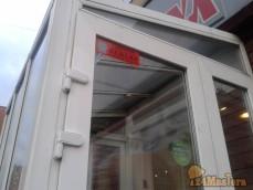 Ремонт ПВХ двери. (замена петель, исправление деформации двери. г.Красноярск, пр.Комсомоль...
