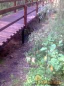 """Пешеходный мост на ВФ BAU FM24 76*1500 Заповедник """"Ст..."""