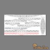 Раскладка на лист фанеры, габариты 2440х1220мм.