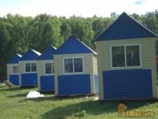 щитовой  дом  -    предназначен  для дачи, базы отдыха, временного проживания.    Помещени...