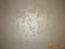 "Декоративная штукатурка ""карта мира"" материал декораза, покрашена декоративной к..."