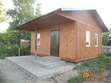 Дачный домик с банькой