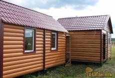 утепленный  домик  2,9м.*6м.,  предназначен  для дачи, базы отдыха, временного проживания....
