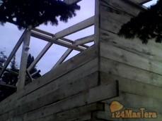 Строительство дачного домика на станции лесной площадь 72 кв м .