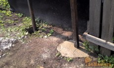 металлически забор.от 1250 руб. погонный метр монтаж.
