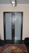 Шикарный вид из зала на закрытую дверь откатная, реально Г...