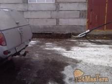 Прокладка силового кабеля по столбам