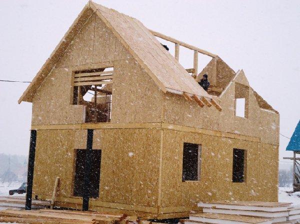 Дома из сип панелей строим